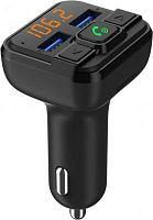 Автомобильный FM-модулятор ACV FMT-116B черный MicroSD BT USB (35455)