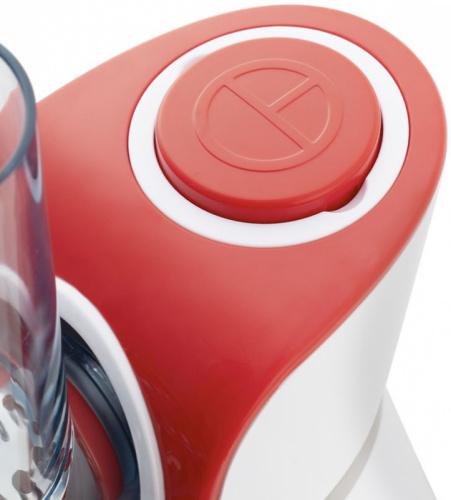 Измельчитель электрический Kitfort КТ-1382 150Вт белый/красный фото 2