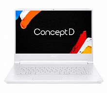 "Ноутбук Acer ConceptD 7 Pro CN715-71P-70XB Core i7 9750H/32Gb/SSD1Tb+1Tb/nVidia Quadro RTX 5000 16Gb/15.6""/IPS/UHD (3840x2160)/Windows 10 Professional 64/white/WiFi/BT/Cam/5500mAh"