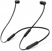 Гарнитура вкладыши Beats BeatsX черный беспроводные bluetooth (шейный обод)