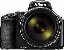 "Фотоаппарат Nikon CoolPix P950 черный 16Mpix Zoom83x 3"" 4K SDXC CMOS 1x2.3 IS opt 1minF turLCD VF 7fr/s 30fr/s HDMI/WiFi/EN-EL20a"