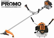 Триммер бензиновый Carver Promo PBC-52 1500Вт 2л.с. неразбор.штан. реж.эл.:леска/нож
