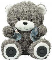 Колонка порт. Ritmix Bear ST-250 серый 6W 2.0 BT/3.5Jack/USB 10м 2000mAh (15118958)