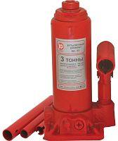 Домкрат Калибр БД-03 бутылочный гидравлический красный (517003)
