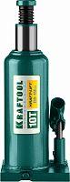 Домкрат Kraftool Kraft-Lift 43462-10_z01 бутылочный гидравлический зеленый