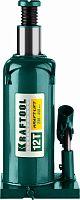 Домкрат Kraftool Kraft-Lift 43462-12_z01 бутылочный гидравлический зеленый