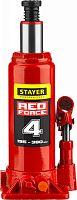 Домкрат Stayer Red Force 43160-4_z01 бутылочный гидравлический красный