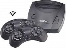 Игровая консоль Retro Genesis Junior черный в комплекте: 300 игр