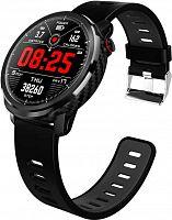 "Смарт-часы Jet Sport SW-8 48мм 1.3"" IPS черный (SW-8 BLACK)"