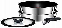 Набор посуды Tefal Ingenio Red L9409072 4 предмета (2100106898)