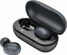 Гарнитура вкладыши SounPeats True Mini черный беспроводные bluetooth (в ушной раковине) (кейс в компл.)