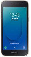 "Смартфон Samsung SM-J260 Galaxy J2 Core 16Gb 1Gb золотистый моноблок 3G 4G 2Sim 5"" 540x960 Android 8.1 8Mpix WiFi GPS GSM900/1800 GSM1900 MP3 microSD max256Gb"