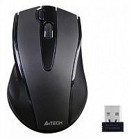 Мышь A4 V-Track G9-500FS черный оптическая (1000dpi) silent беспроводная USB (4but)