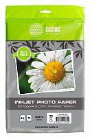 Фотобумага Cactus CS-MA410020EDS A4/100г/м2/20л./белый матовое/матовое для струйной печати