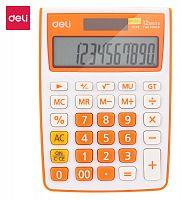 Калькулятор настольный Deli E1238/OR оранжевый 12-разр.