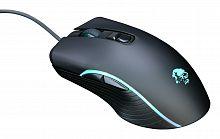 Мышь Оклик 708G MYSTERY черный оптическая (3200dpi) USB (7but)