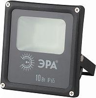 Прожектор уличный Эра LPR-10-4000К-М SMD светодиодный 10Вт корп.мет.черный (Б0019824)