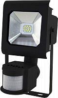 Прожектор уличный Эра Pro LPR-10-2700К-М-SEN SMD светодиодный 10Вт корп.мет.черный (Б0028651)