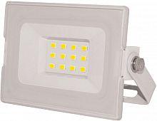 Прожектор уличный Эра Eco Slim LPR-031-0-65K-010 светодиодный 10Вт корп.мет.белый (Б0043569)