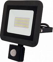 Прожектор уличный Эра Eco Slim LPR-041-2-65K-050 светодиодный 50Вт корп.мет.черный (Б0043587)