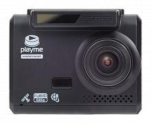 Видеорегистратор с радар-детектором Playme ALPHA GPS черный