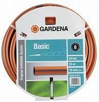 "Шланг Gardena Basic 3/4"" 20м оранжевый (18145-29.000.00)"