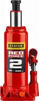 Домкрат Stayer Red Force 43160-2-K_z01 бутылочный гидравлический красный