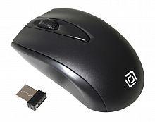 Мышь Oklick 540MW черный оптическая (1200dpi) беспроводная USB (2but)