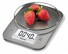Весы кухонные электронные Beurer KS26 макс.вес:5кг серебристый