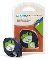 Картридж ленточный Dymo LT S0721510 черный/белый для Dymo