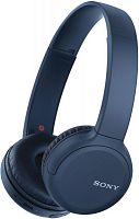 Гарнитура накладные Sony WH-CH510 синий беспроводные bluetooth оголовье (WHCH510L.E)