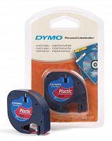 Картридж ленточный Dymo LT S0721630 черный/красный для Dymo