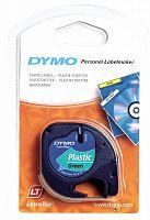 Картридж ленточный Dymo LT S0721640 черный/зеленый для Dymo