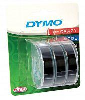 Картридж ленточный Dymo Omega S0847730 белый/черный набор x3упак. для Dymo
