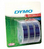 Картридж ленточный Dymo Omega S0847740 белый/синий набор x3упак. для Dymo