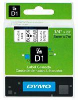 Картридж ленточный Dymo D1 S0720770 черный/прозрачный для Dymo