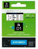 Картридж ленточный Dymo D1 S0720670 черный/прозрачный для Dymo