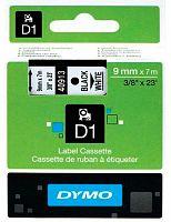 Картридж ленточный Dymo D1 S0720680 черный/белый для Dymo