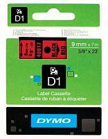 Картридж ленточный Dymo D1 S0720720 черный/красный для Dymo