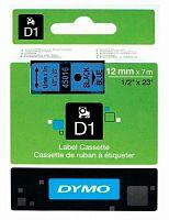 Картридж ленточный Dymo D1 S0720560 голубой/черный для Dymo