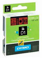 Картридж ленточный Dymo D1 S0720570 черный/красный для Dymo
