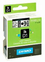 Картридж ленточный Dymo D1 S0720930 черный/белый для Dymo