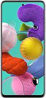 "Смартфон Samsung SM-A515F Galaxy A51 128Gb 6Gb белый моноблок 3G 4G 2Sim 6.5"" 1080x2400 Android 10 48Mpix 802.11 a/b/g/n/ac NFC GPS GSM900/1800 GSM1900 TouchSc MP3 microSD max512Gb"
