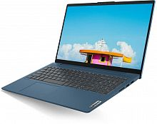 "Ноутбук Lenovo IdeaPad IP5 15IIL05 Core i3 1005G1/8Gb/SSD256Gb/Intel UHD Graphics/15.6""/IPS/FHD (1920x1080)/Windows 10/blue/WiFi/BT/Cam"