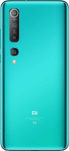 "Смартфон Xiaomi Mi 10 256Gb 8Gb зеленый моноблок 3G 4G 1Sim 6.67"" 1080x2340 Android 10 108Mpix 802.11 a/b/g/n/ac/ax NFC GPS GSM900/1800 GSM1900 MP3 A-GPS фото 2"