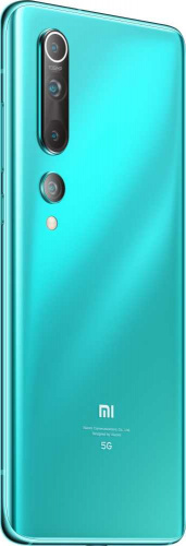 "Смартфон Xiaomi Mi 10 256Gb 8Gb зеленый моноблок 3G 4G 1Sim 6.67"" 1080x2340 Android 10 108Mpix 802.11 a/b/g/n/ac/ax NFC GPS GSM900/1800 GSM1900 MP3 A-GPS фото 3"