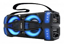 Минисистема Hyundai H-MAC200 черный 45Вт/FM/USB/BT/SD/MMC