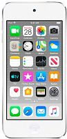 Плеер Flash Apple iPod Touch 7 128Gb серебристый/4""