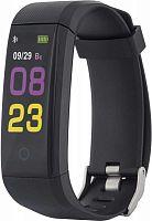 Фитнес-трекер Rekam Bizzaro F330 OLED корп.:черный рем.:черный (2202000004)