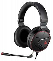 Наушники с микрофоном A4 Bloody G600i черный 1.3м мониторные USB оголовье (G600I)